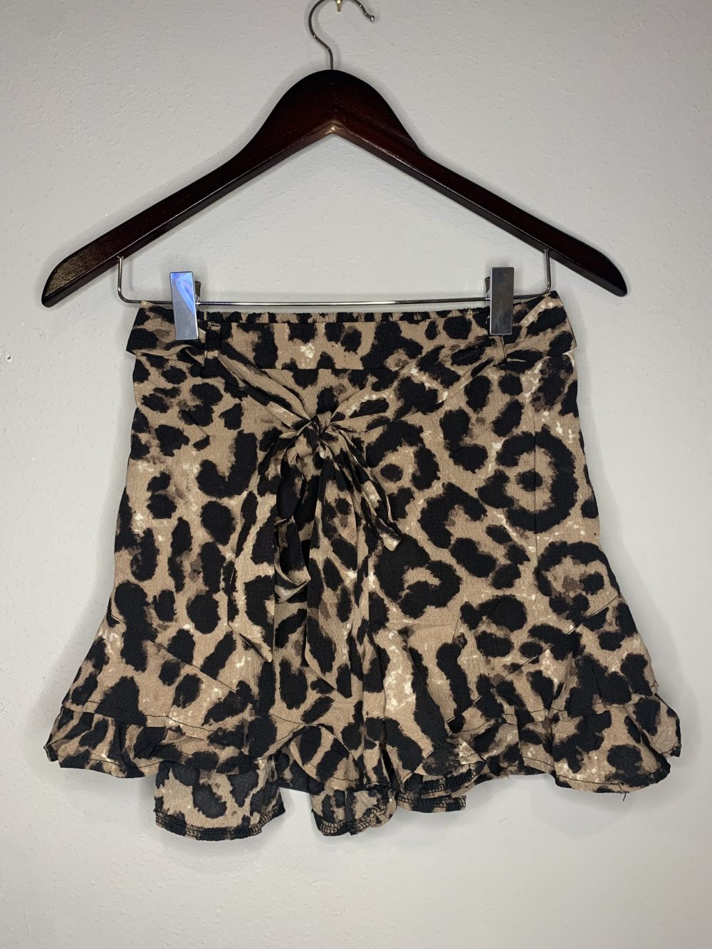 In the Wild Animal Print Shorts