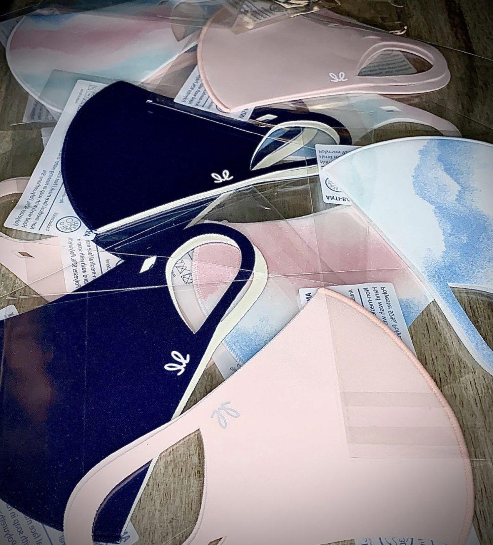 3-Pack of Masks (Navy, Pink, Tie-dye)